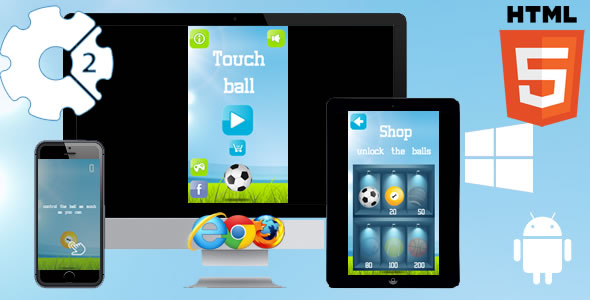 Touch Ball Game - CodeCanyon Item for Sale