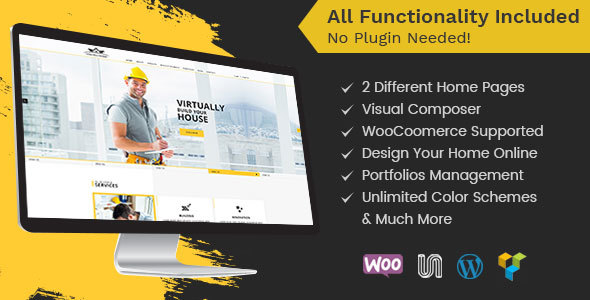 Construction - Construction WordPress Theme for Architect and Construction