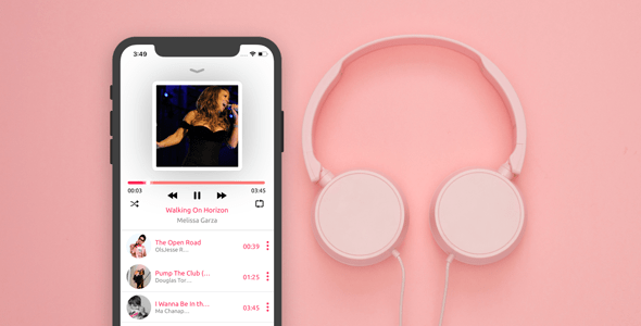 Smart Music IOS Swift Laravel Restful Api