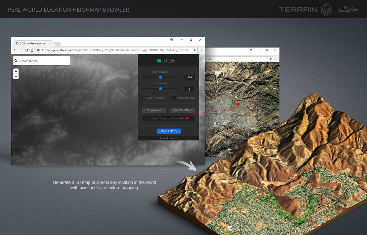 3D Map Generator   Terrain from Heightmap by Orange Box   GraphicRiver 3D Map Generator   Terrain from Heightmap