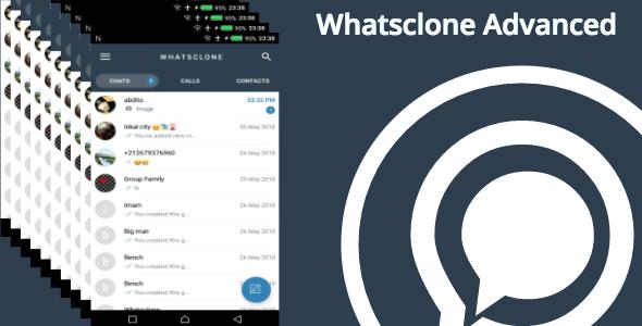 Whatsclone - Advanced