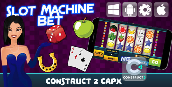 Betting Slot Machine - Html5 Game (Capx) - Item Code for Sale