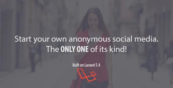 MessageMe - Laravel Anonymous Social Media Script