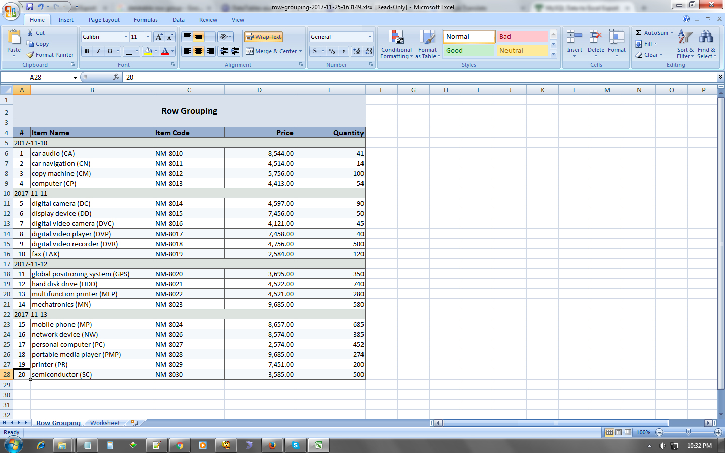 Mysql Data To Excel Export By Themeposh