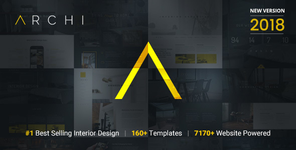 Archi   Interior Design Website Template by designesia   ThemeForest Archi   Interior Design Website Template   Creative Site Templates