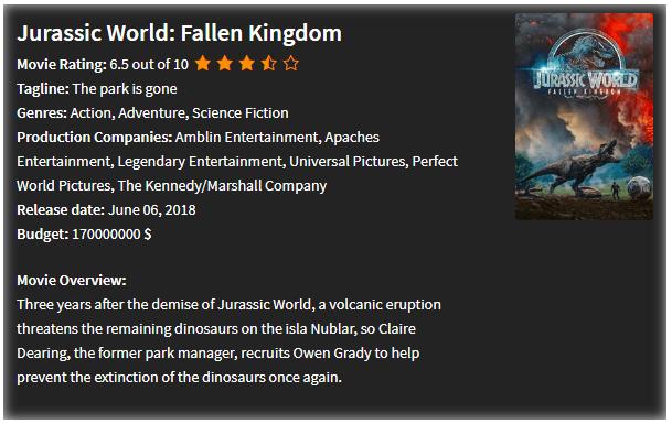 IMDB WordPress Plugin   2