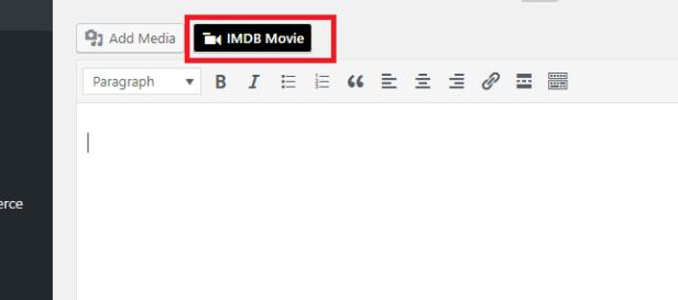 IMDB WordPress Plugin   8