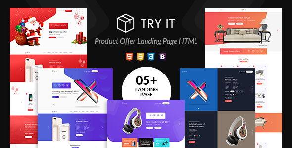 Crafter - Tattoo Bootstrap Landing Page Template - 3