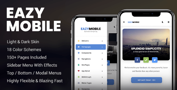 Eazy Mobile | Mobile Template