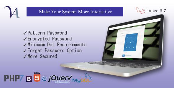 VenAttern - Secured Pattern Authentication System