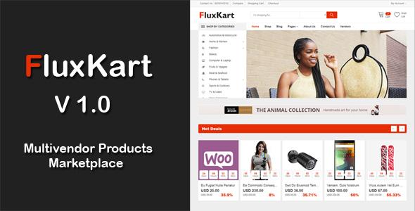 FluxKart Multivendor Products Marketplace