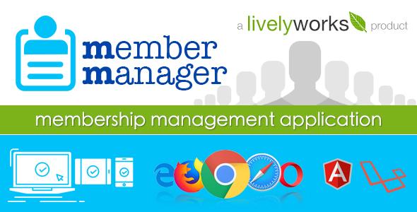 MemberManager - Simple Membership Management Application