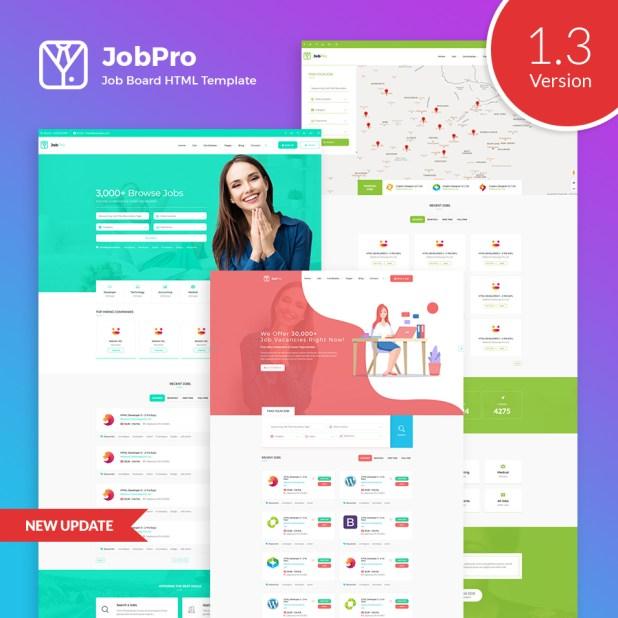 Job Pro - Job Board HTML Template - 1