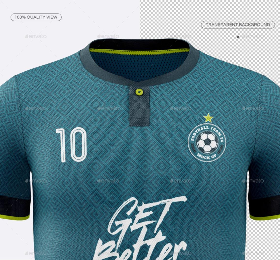 Download Men's Soccer Jersey Mockup V7 by TRDesignme | GraphicRiver