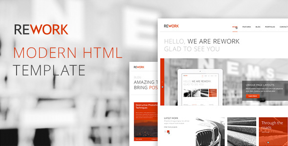 HTML5 CSS3 Templates for Startups