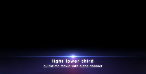 Light Lower Third By DarkRoom VideoHive