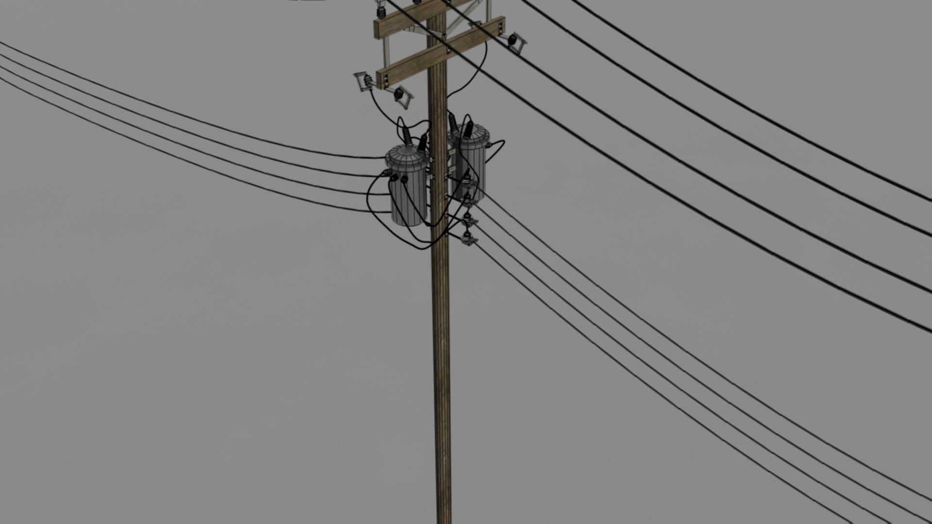 Utility Pole By Maliaceant28