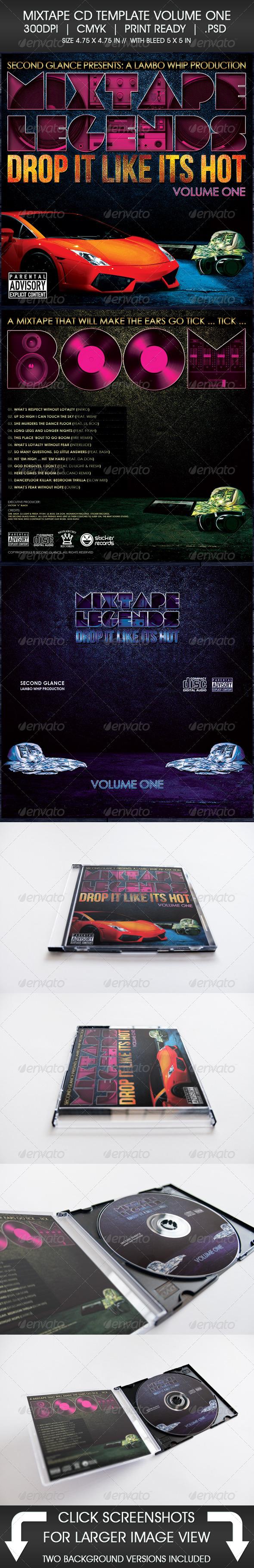 mixtape background template www