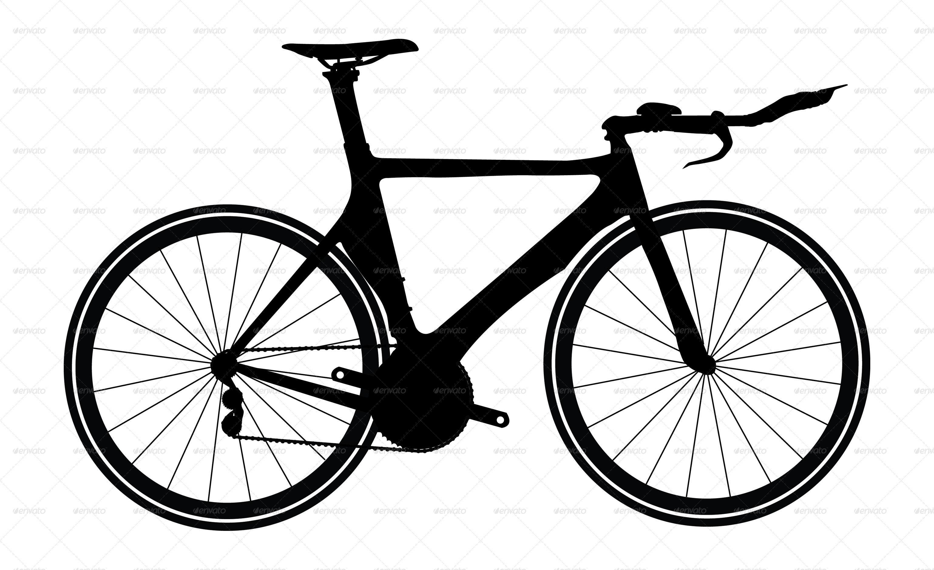 Bicycle Silhouettes By Mdshahidullah609