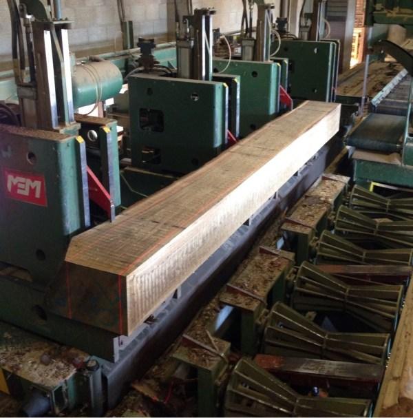 houten balken op maat
