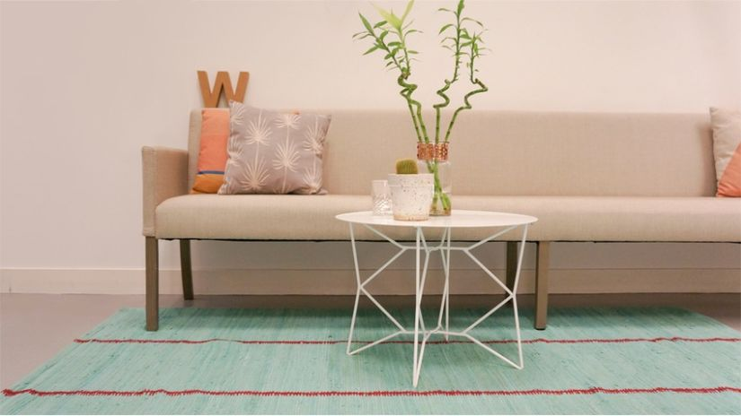 Table Basse Blanche Ventes Prives WESTWING