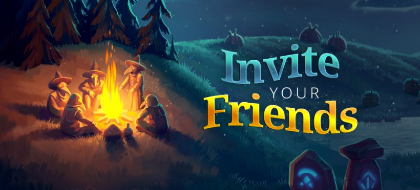 Invite Your Friends To Play Faeria For Free