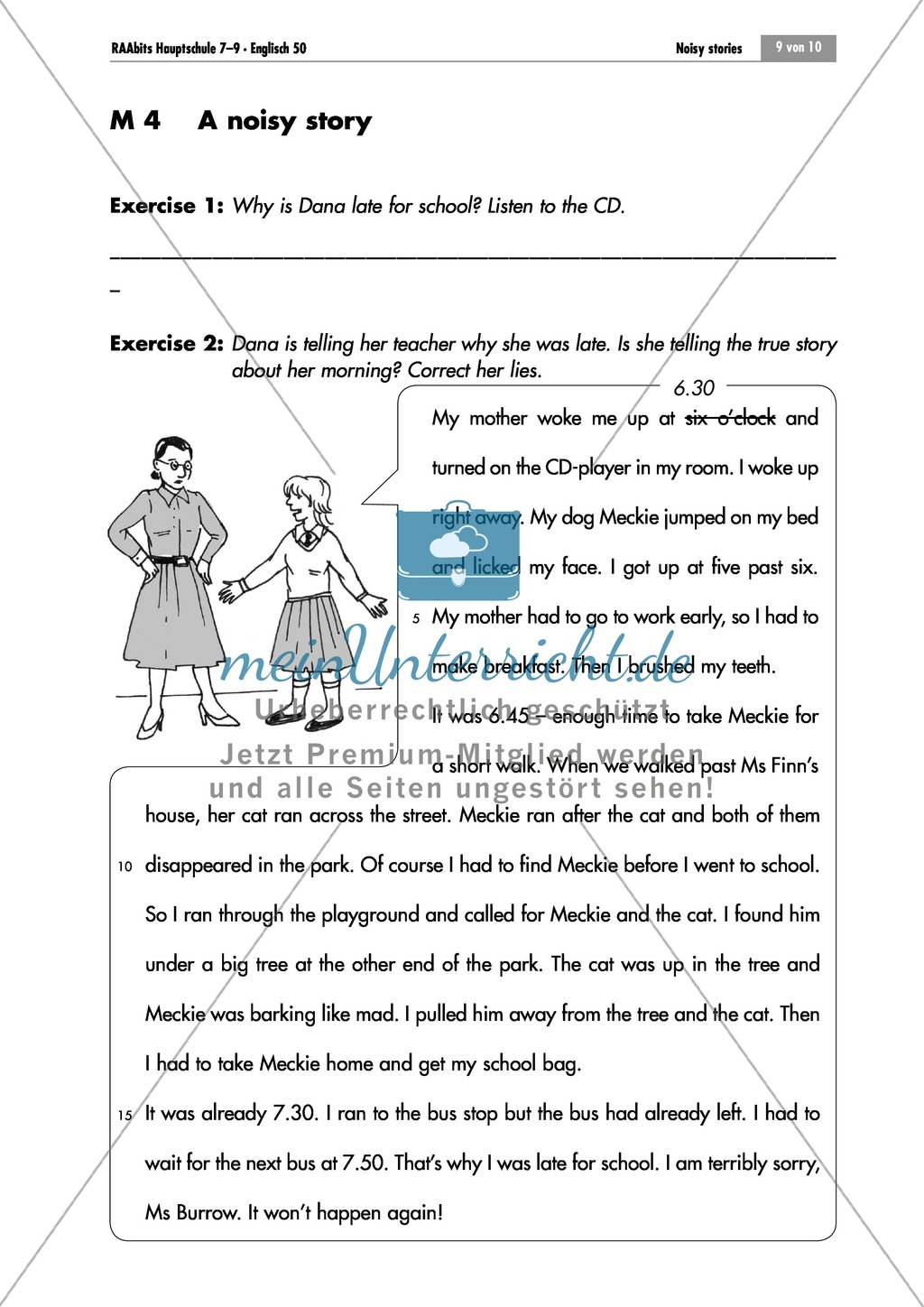 Simple Past Listening Comprehension And Grammar Exercise