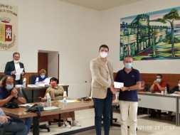borsa di studio 3 con sindaco Pietro Macaluso