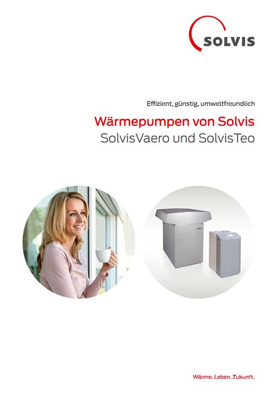 Produktbroschüre SolvisVaero Wärmepumpe