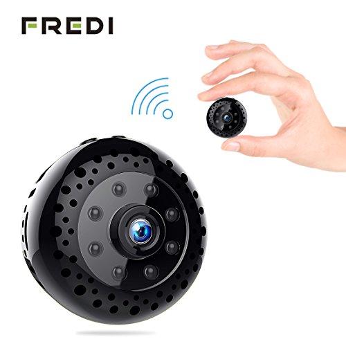 FREDI HD1080P WIFI telecamera Spia videocamera nascosta Microcamera Wireless Mini Camera spia microtelecamera wifi Hidden Spy Cam Videocamera di sorveglianza Interno IP telecamera di sorveglianza - 8