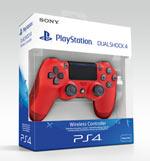 Controller PlayStation 4 - DUALSHOCK®4 V2 - Rosso