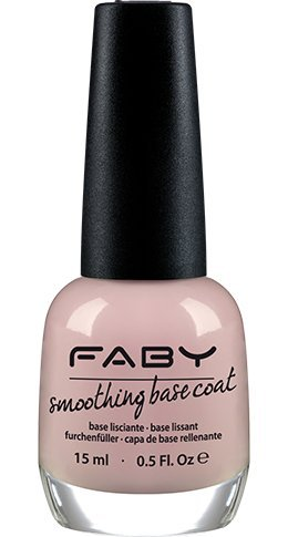 FABY NAILS - Base Coat Azione Riempitiva - Base Ideale per Smalto Lunga Durata - Specifico per Unghie dalla Superficie Irregolare - 15 ml - 1