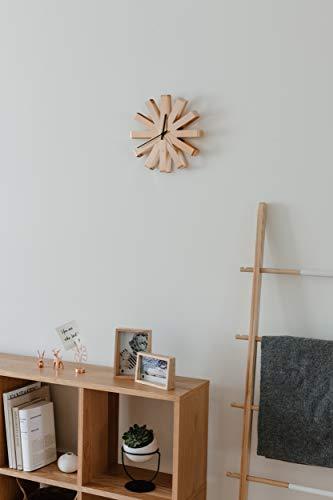 Umbra Ribbon Orologio da Parete Rame, Metallo, 30.48x30.48x5.21 cm 3 unità - 7