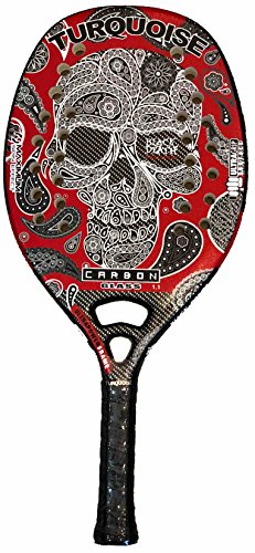 Racchetta Beach Tennis Turquoise BLACK DEATH CHALLENGE RED 2018 - 1