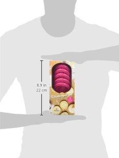 Rayher 28858000 Kit Stampi per biscotti, set timbri in silicone, decorazioni dolci, con manico in legno, 8 pz., diametro 7 cm. - 1