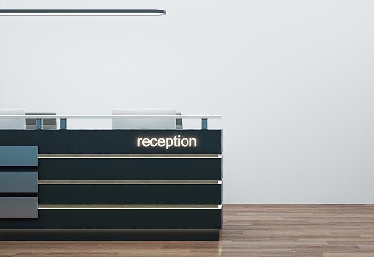 pannello di protezione anti-droplet reception