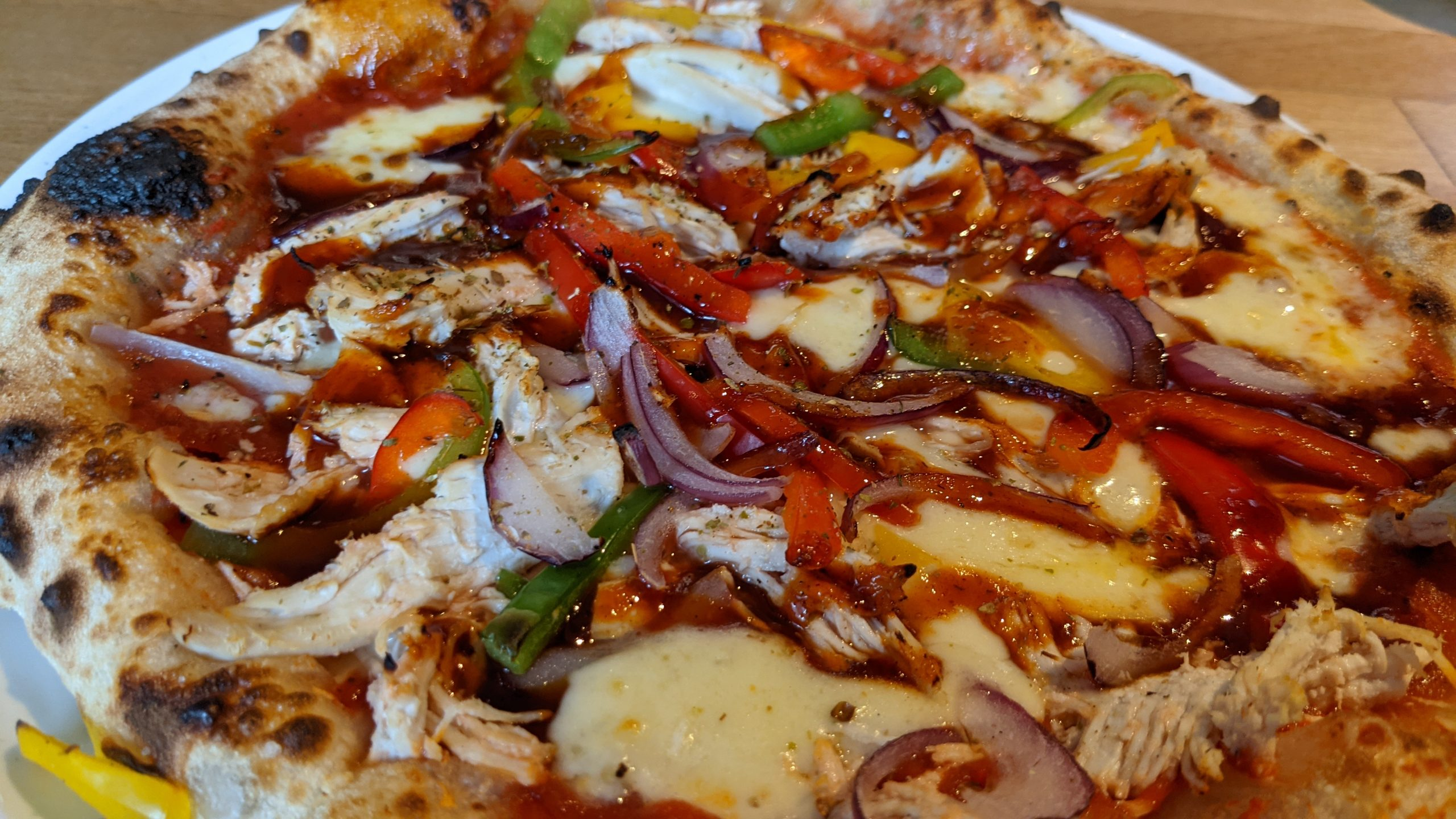 Pizza Geeks, Leith - Chicken pizza