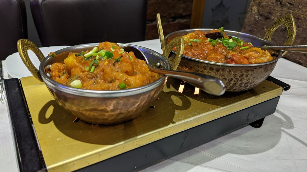 In Touch Indian food