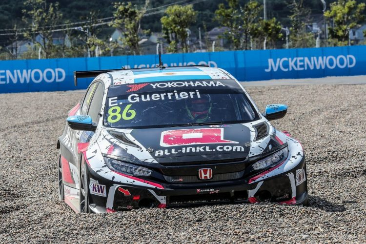 WTCR winner Guerrieri: the gravel trap got me - FIA WTCR   World Touring Car Cup
