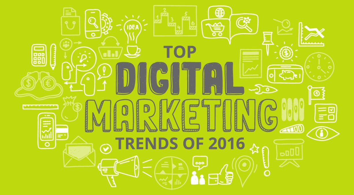 Top Digital Marketing Trends of 2016