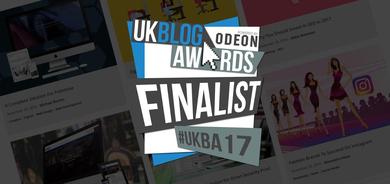 Fifteen are UK Blog Awards Finalists!
