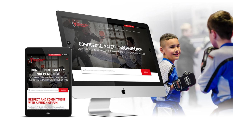 Fifteen Jump kicks British Military Martial Arts's New Website