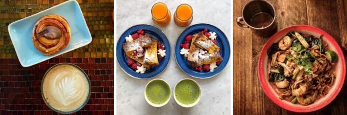 Instagram cliches - food