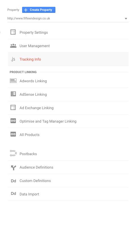 Google Analytic Tracking Info