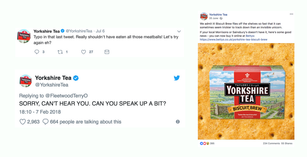 Social Media for Brands: Yorkshire Tea does it 'Proper' - Fifteen