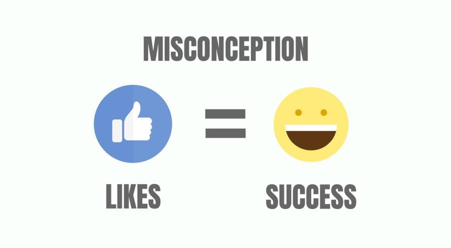 social media for brands likes success