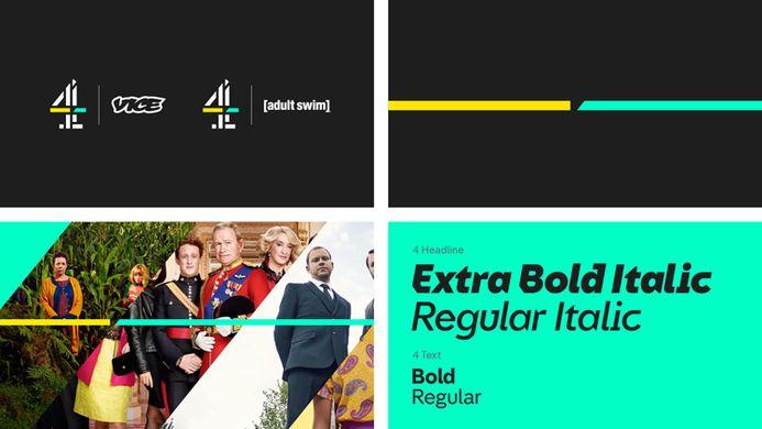 Channel 4 Rebrand 2019 (Source Design Week)