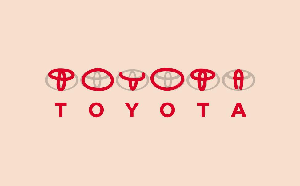 Toyota Logo Design