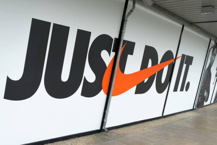 Nike Motto Branding Example