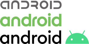 Android logo redesign